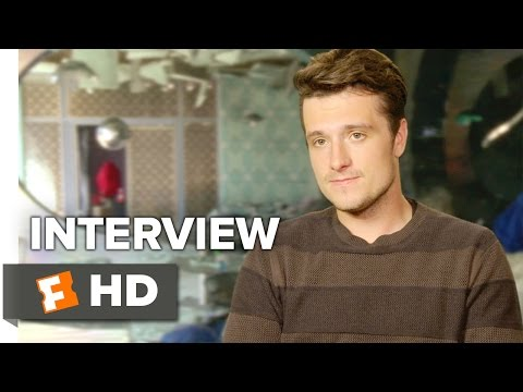 The Hunger Games: Mockingjay - Part 2 Interview - Josh Hutcherson ...