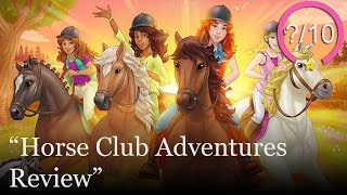 Horse Club Adventures Review [PS4, Switch, Xbox One, & PC] (Video Game Video Review)