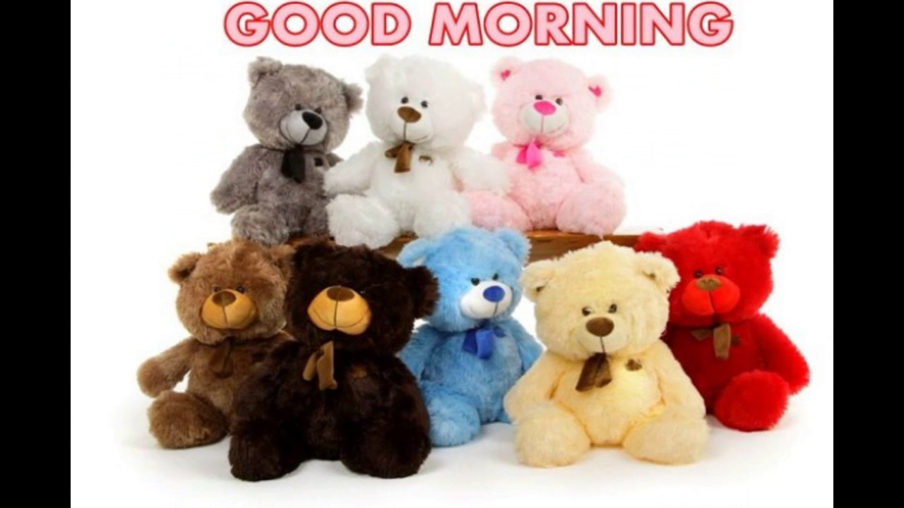 Good Morning Wishes With Gif Teddy Bear Quotesgreetingsecard