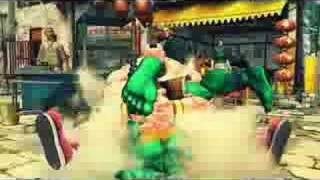 Street Fighter IV - AOU 2008 Amusement Expo Trailer
