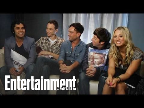 The Big Bang Theory': Kaley Cuoco, Jim Parsons, & More Talk New Season | Entertainment Weekly