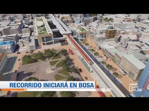 Ojos a la Obra: Así será el recorrido del metro en Bogotá