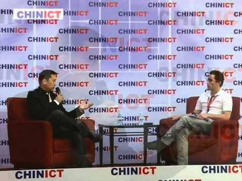 Yeepay co-founder speaks at CHINICT.