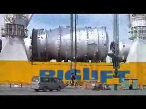 Hàng khủng nhất Nhà máy lọc dầu đây !