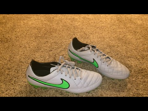 low priced 740fe 771be Nike Tiempo Legacy - Wolf Grey/Green Strike-Black - (Silver Storm) Unboxing  & Overview