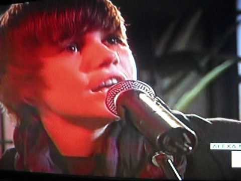 Justin Bieber  One time  acoustic   Its On With Alexa Chung