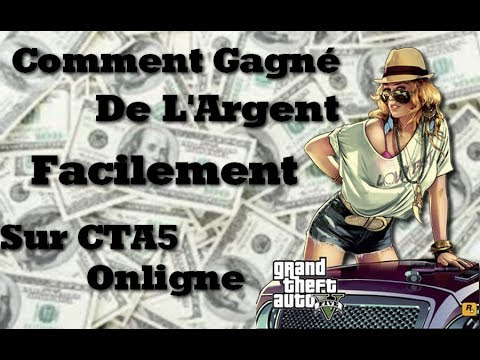 tuto gta5 onligne comment gagner de l 39 argent facilement 2 youtube. Black Bedroom Furniture Sets. Home Design Ideas