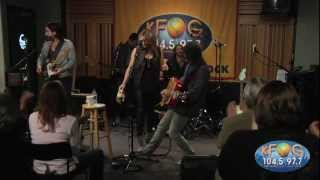 Grace Potter and the Nocturnals - Parachute Heart (Live on KFOG Radio)
