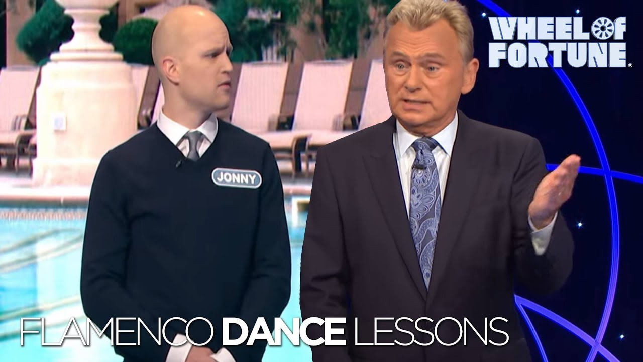 Flamenco Dance Lessons Wheel Of Fortune Youtube