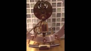 Kundo Electronic Germany Keininger & Obergfell Battery Mantle Clock