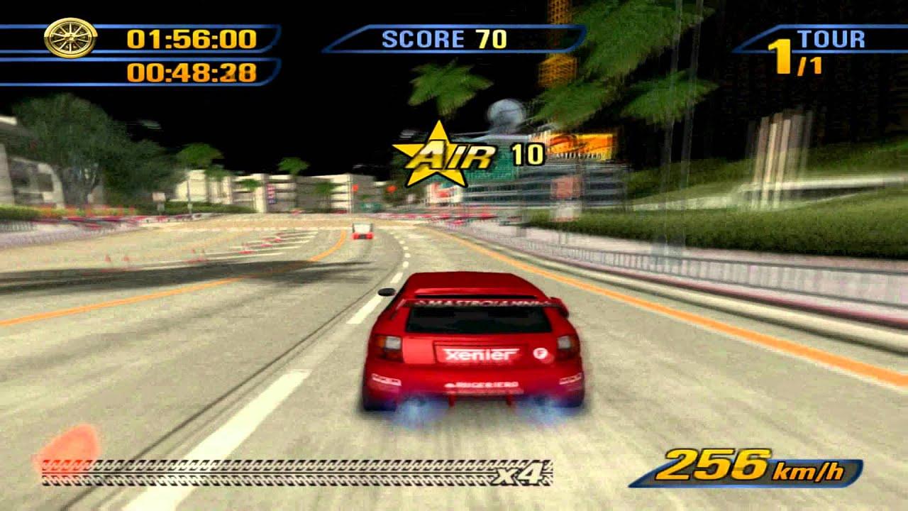 [HD 1080 P ] Burnout 3 Takedown Gameplay on PCSX2 at Full Speed