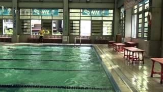 20121215海洋杯游泳比賽之100公尺仰式個人賽
