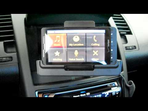 Motorola Droid X Car Dock