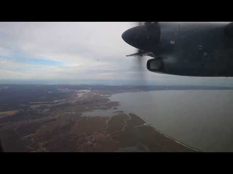 American 4831 Dash 8 from Salisbury SBY to Philadelphia PHL 14NOV2016