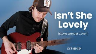 Isn't She Lovely • Joe Robinson • Stevie Wonder Guitar Cover
