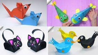 11 DIY paper crafts | Paper toys