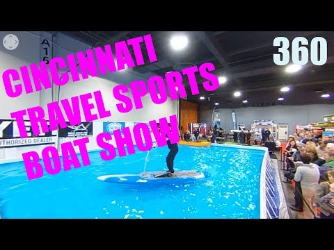 360 DEGREE - 2018 Cincinnati Travel Sports and Boat Show Interactive Video