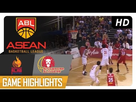 Alab Pilipinas vs. Singapore Slingers | Game Highlights | ABL 2017-2018 | January 7, 2018
