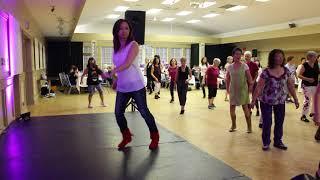 Lost in Japan - Improver Line dance (FULL)