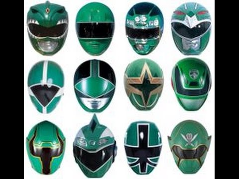 Ranking all the Green Power Rangers (MMPR to SuperMegaforce)