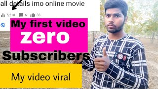 My 10 subscribers and my video viral/ channel grow kaise kre