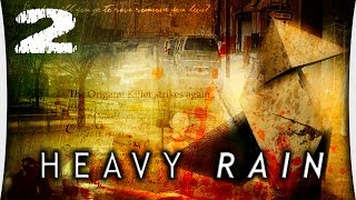"Heavy Rain - Часть 2 ""Грязное место / Место преступления / Психолог / Парк / Где Шон?"""