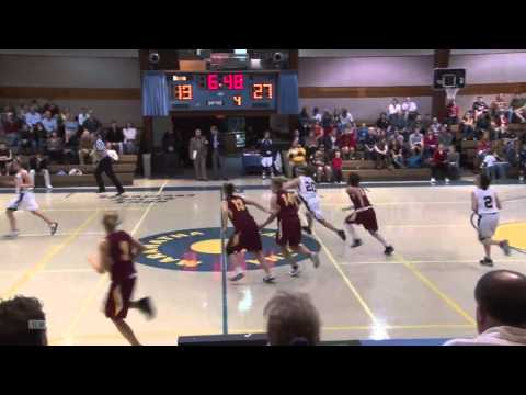 Shining Mountain Waldorf School Girls Varsity Basketball vs. CCA  2nd Half Game:  01/28/11