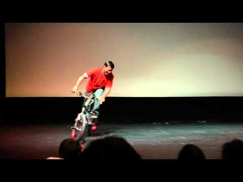 """Rad"" 25th Anniversary Screening Uptown Theatre - Bicycle Boogie On Stage"