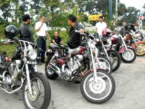 Beach Bikers Club - Vulcan and Virago Convoy to Terengganu