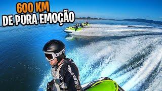 600 Km de pura emoção! Travessia de Joinville para o Guarujá de Jet Ski - Parte 1