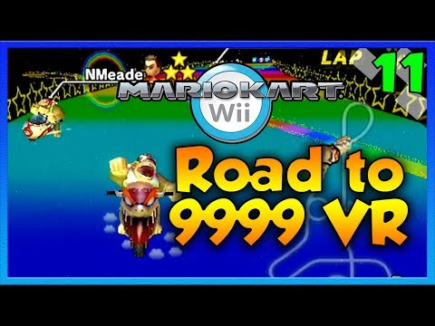 Mario Kart Wii Custom Tracks - Road to 9999 VR Episode 11 - NMEADE TERRITORY?!