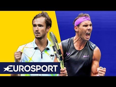 Rafael Nadal vs Daniil Medvedev Highlights | US Open Final 2019 | Eurosport