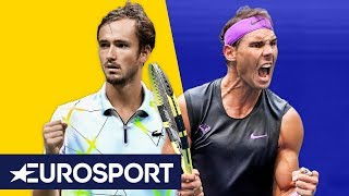 Rafael Nadal vs Daniil Medvedev Highlights | US Open Final 2019 | Eurosport