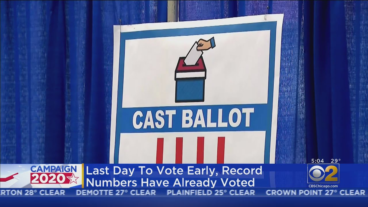 One More Day Of Early Voting Still To Go In Illinois