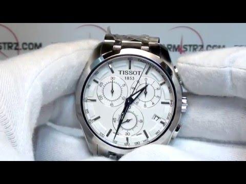 Tissot Couturier Chronograph   T035.617.11.031.00   www.zegarmistrz.com