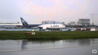 HD - Boeing 767 LAN - Jose Joaquin de Olmedo Intl