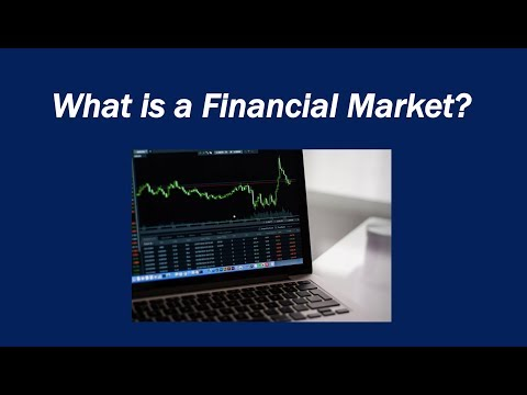 What is a Financial Market?