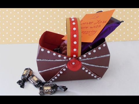 DIY Handmade Gift Idea How To Make An Easy Beautiful Paper Basket