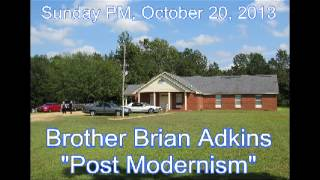 "Highway 69 Church of Christ: ""Post Modernism"""