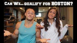 FIRST MARATHON | Can we qualify for Boston? | Marathon Training in Medical School