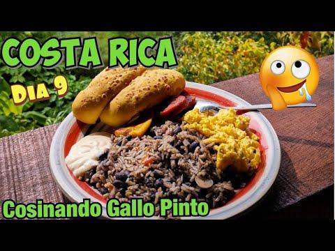 Costa Rica como hacer Gallo Pinto cosinando Waldys Off Road