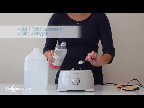 Cleaning your Crane Humidifier