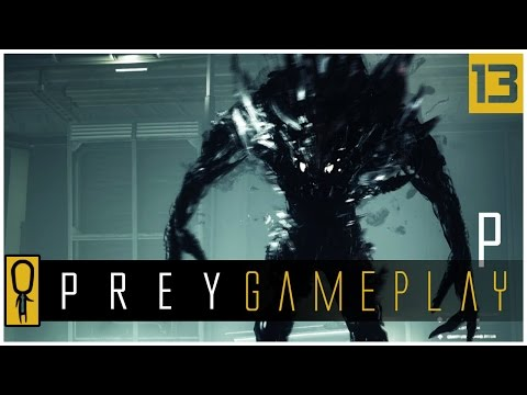 Let's Play PREY Gameplay Part 13 - JOSH DALTON BLACKBOX - Walkthrough