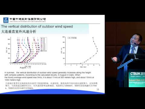 "CTBUH 2014 Shanghai Conference - Xiaoxin Man, ""Ultra-Low Energy Consumption in Upper Floors"""
