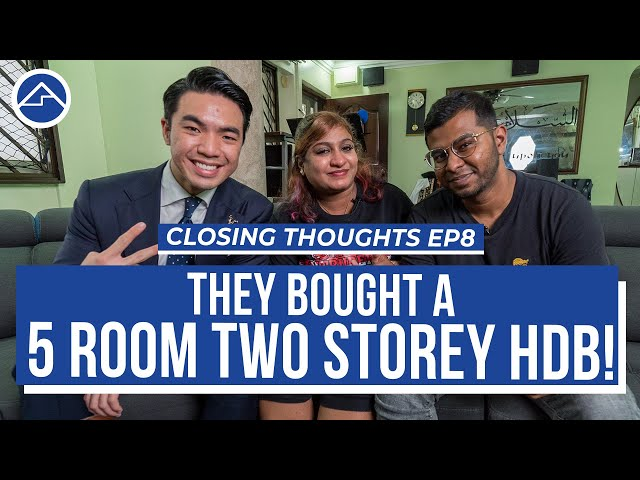 2 storey HDB dream home bought! | Closing Thoughts Ep8