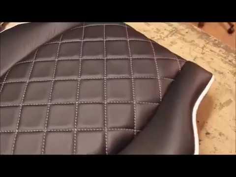 Как обтянуть сиденье автомобиля своими руками