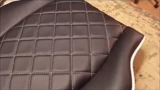 Как самостоятельно обтянуть сиденья кожей