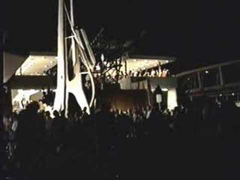 Tomorrowland Skyway Station Night View