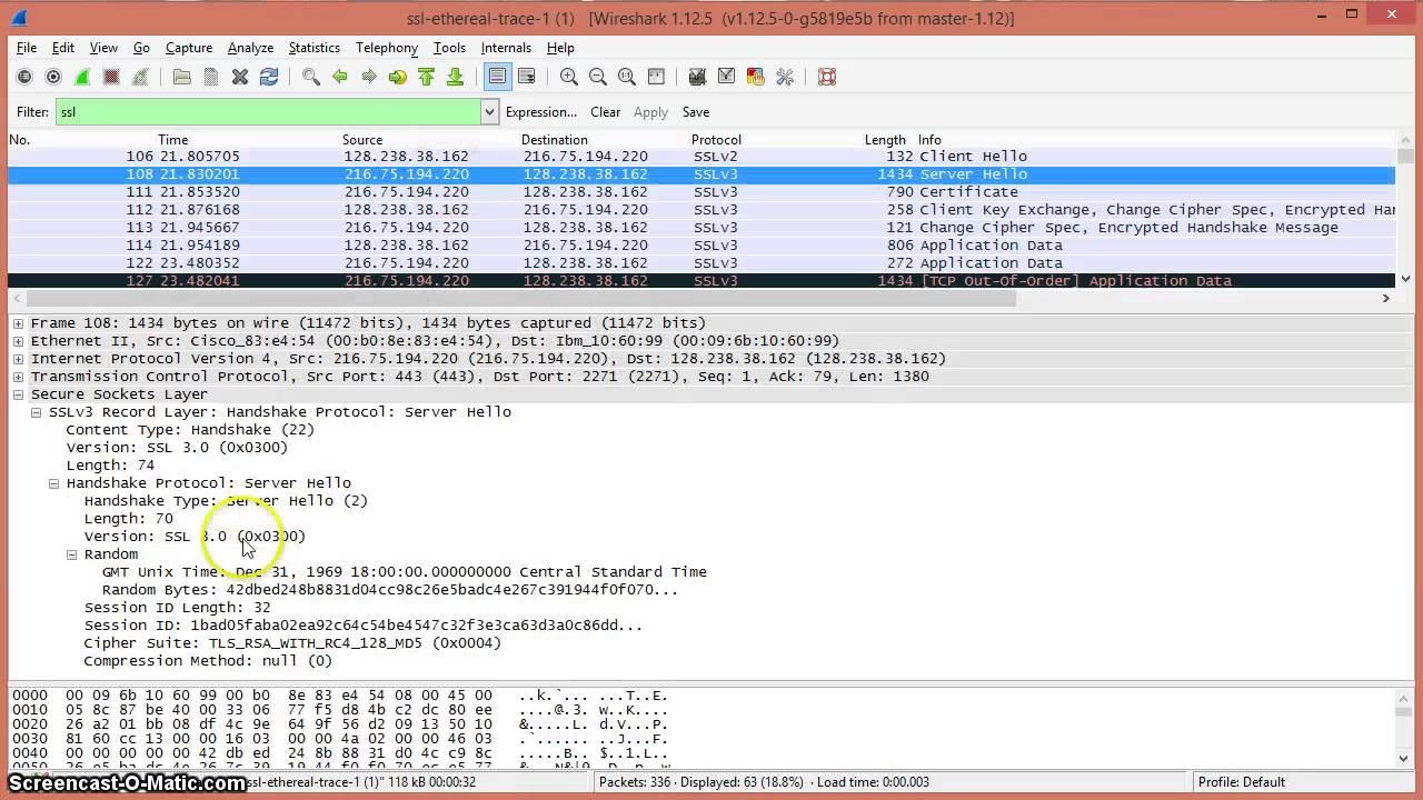 SSL and TLS Wireshark Demonstration  YouTube