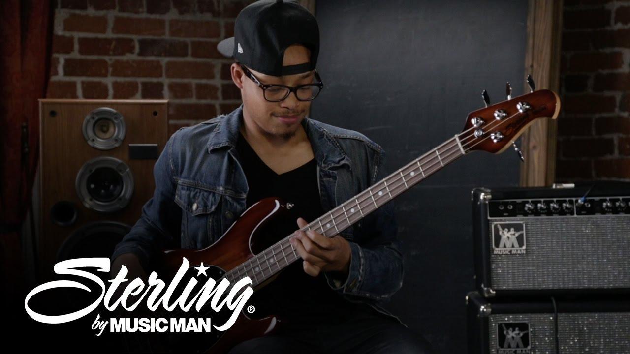 small resolution of sterling by music man stingray bass demo ray34 koa